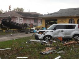 Cape Coral tornado damage